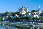 Picturesque Saumur sits on the Loire